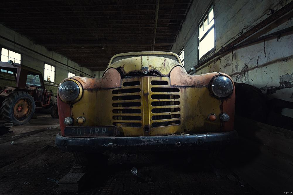 Photo in Vehicle #decay #car #lost #abandonned