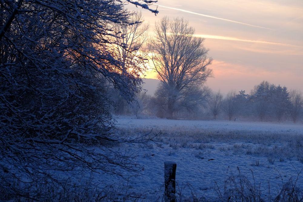 Photo in Landscape #hiller moor #winter #landschaft