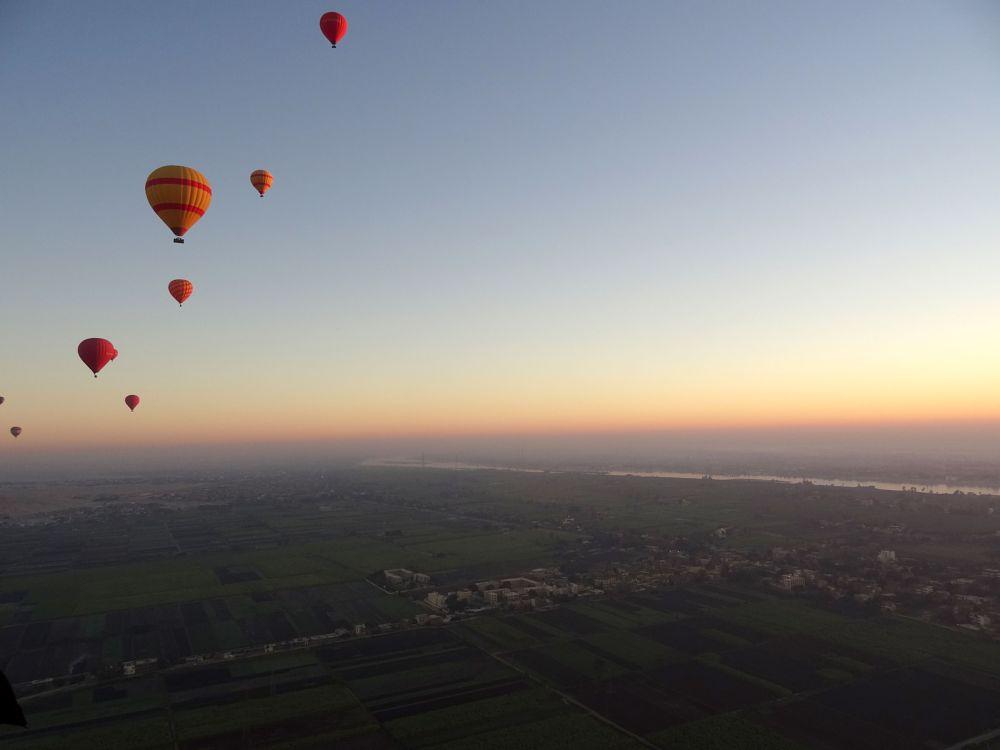 Photo in Travel #egypt #hot air balloon