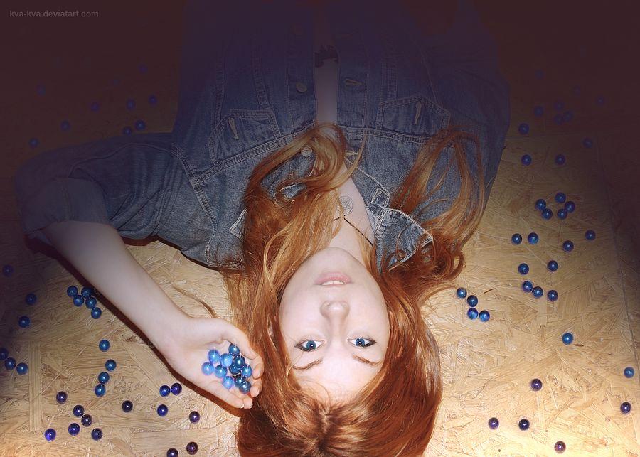 Photo in Random #chill #blue #ginger #conceptual #kvakva #photo