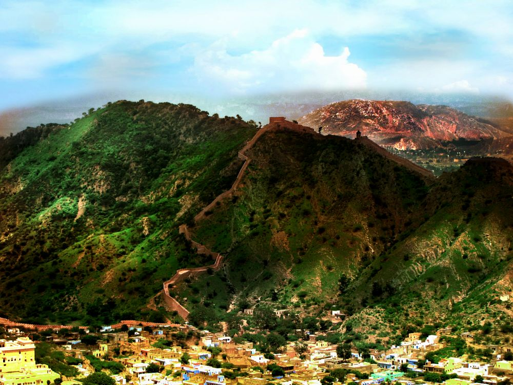 Photo in Landscape #landscape #jaipur #nature