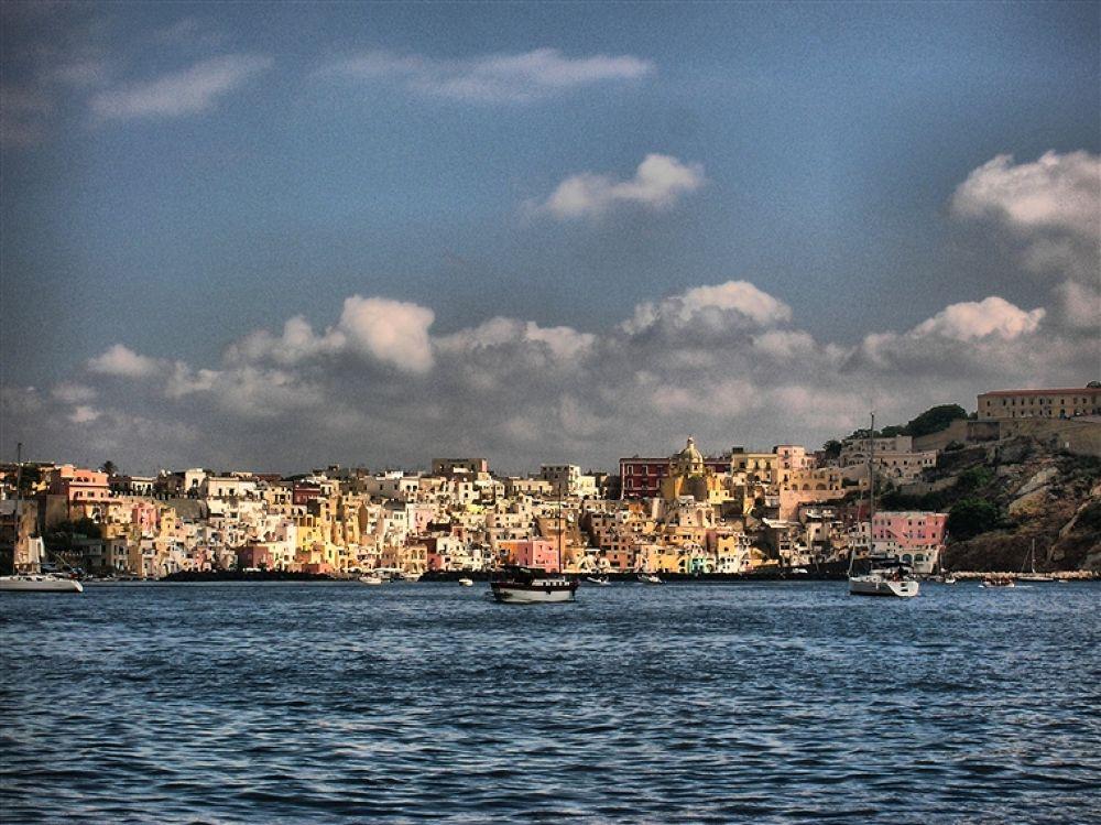 Photo in Random #di #- #isola #napoli #procida