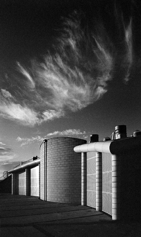 Photo in Black and White #infrared #black and white #kodak hie #ilford id11 #canon #tamron #architecture #high contrast