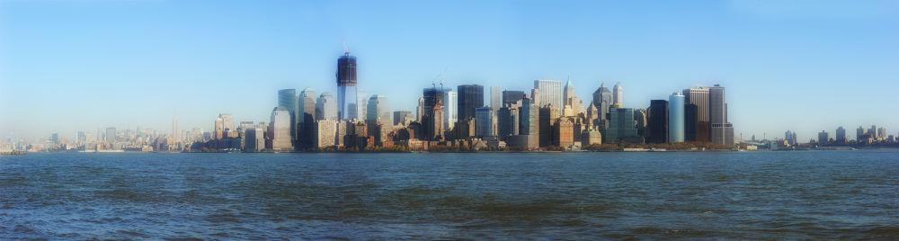 Photo in Random #manhattan #newyork #glennngoulding #vogue #panoramic