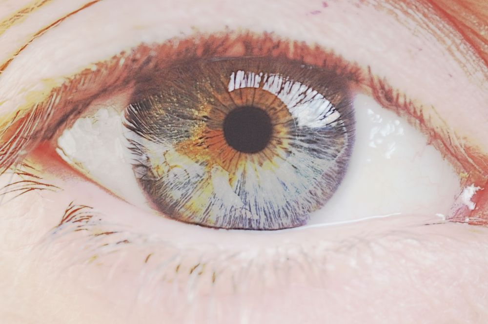 Photo in Fine Art #eye #fineart #photoshop #colour