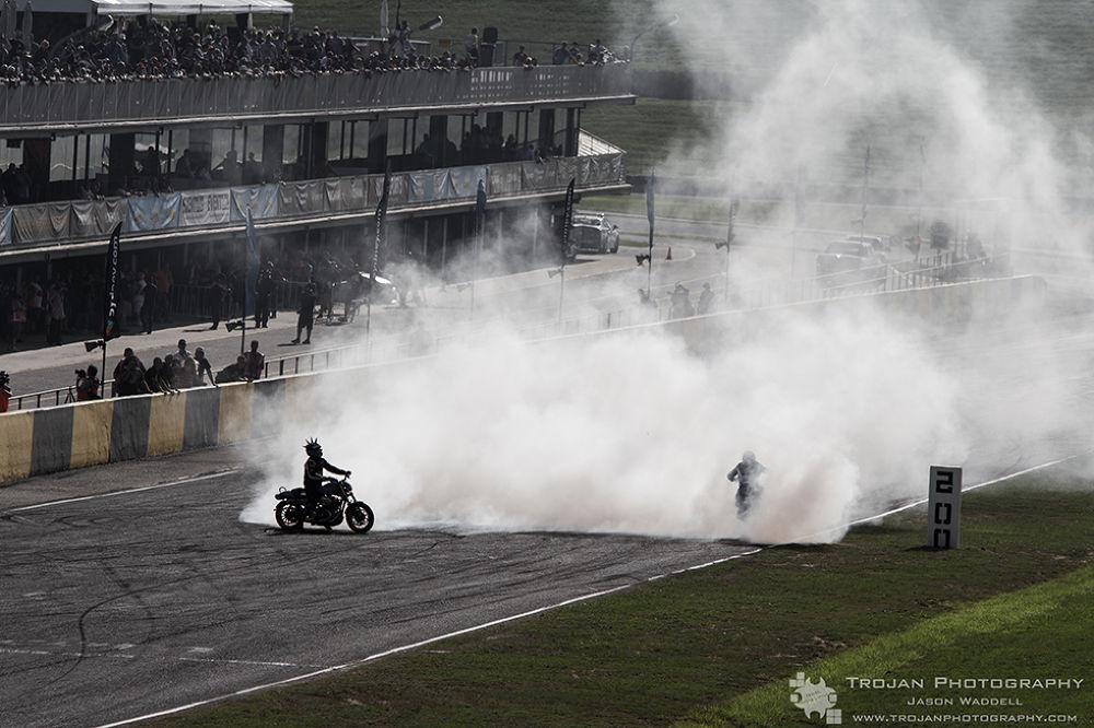 Photo in Vehicle #match box #harley #matty mingay #tgfa #smoke #silhouette