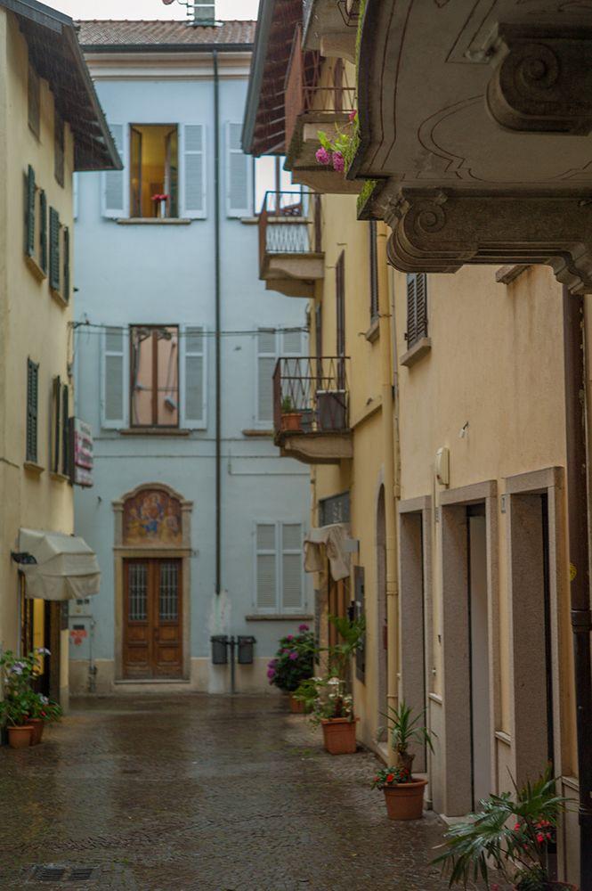 Photo in Street Photography #rainy #stresa #balconies #italy #wet