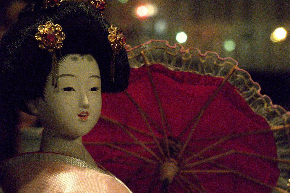 Photo in Portrait #geisha #figure #low light #grainy