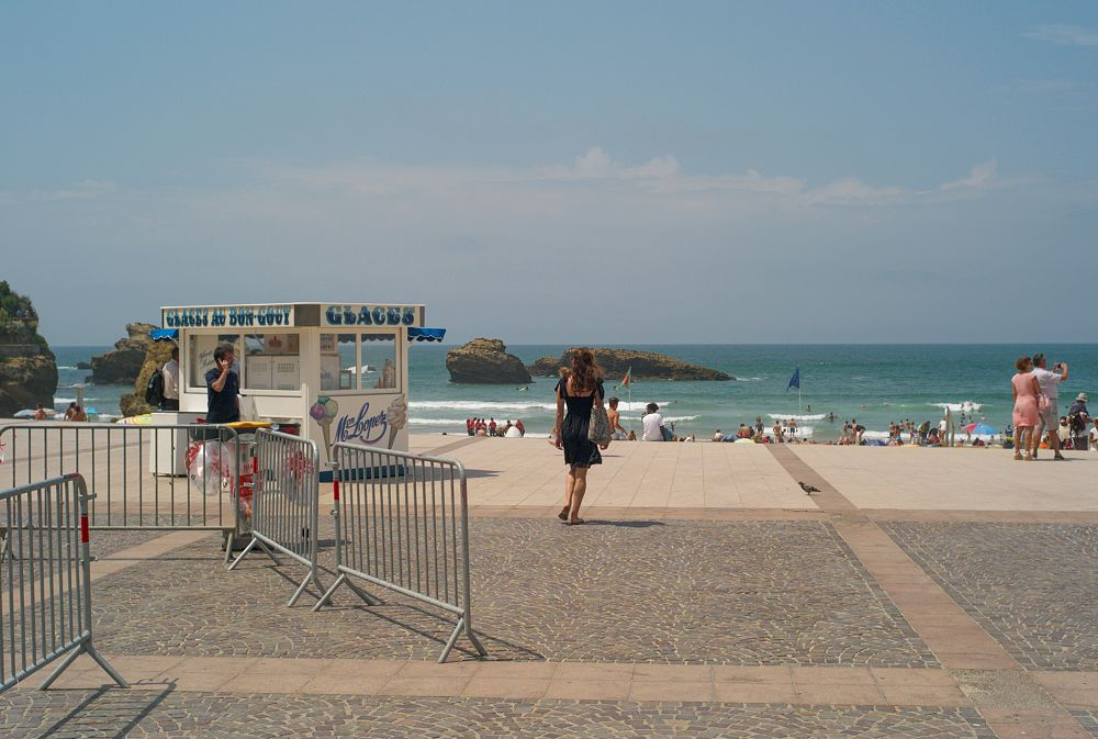 Photo in Landscape #biarritz #people #beaches #summer #holidays