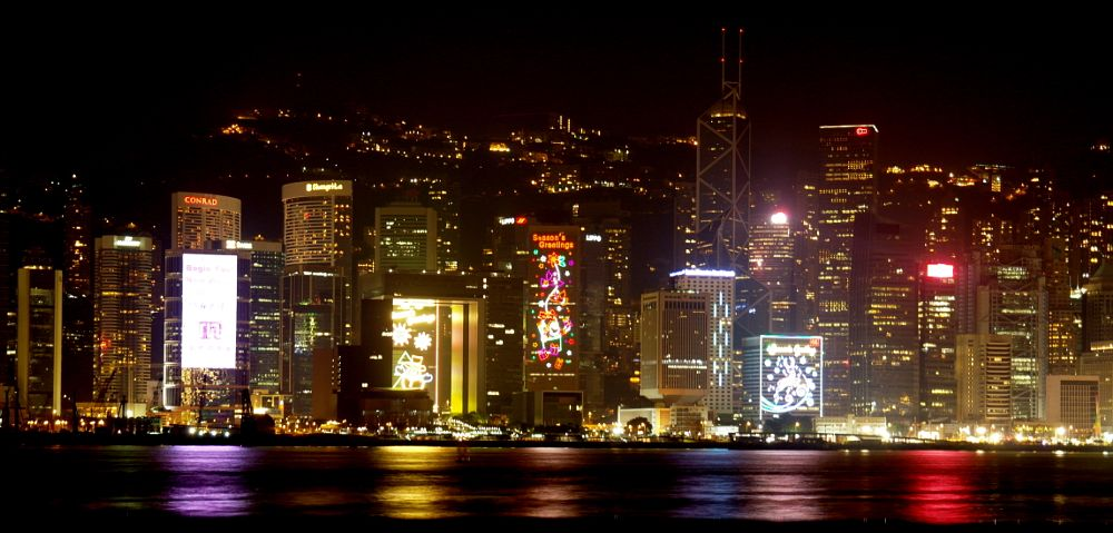 Photo in Cityscape #cityscape #night #hong kong