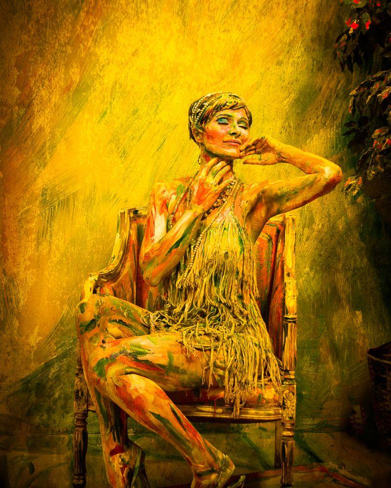 Photo in Random #paint #body paint #woman