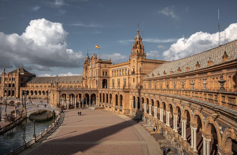 Photo in Travel #plaza de espana #seville #youpic