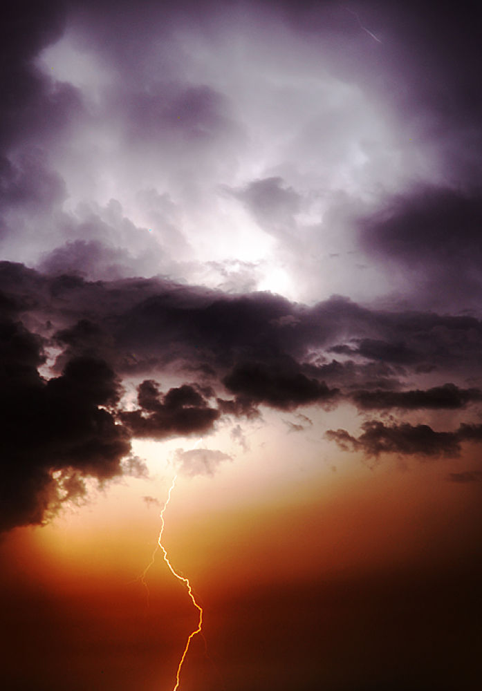 Photo in Nature #lightning #sky #storm