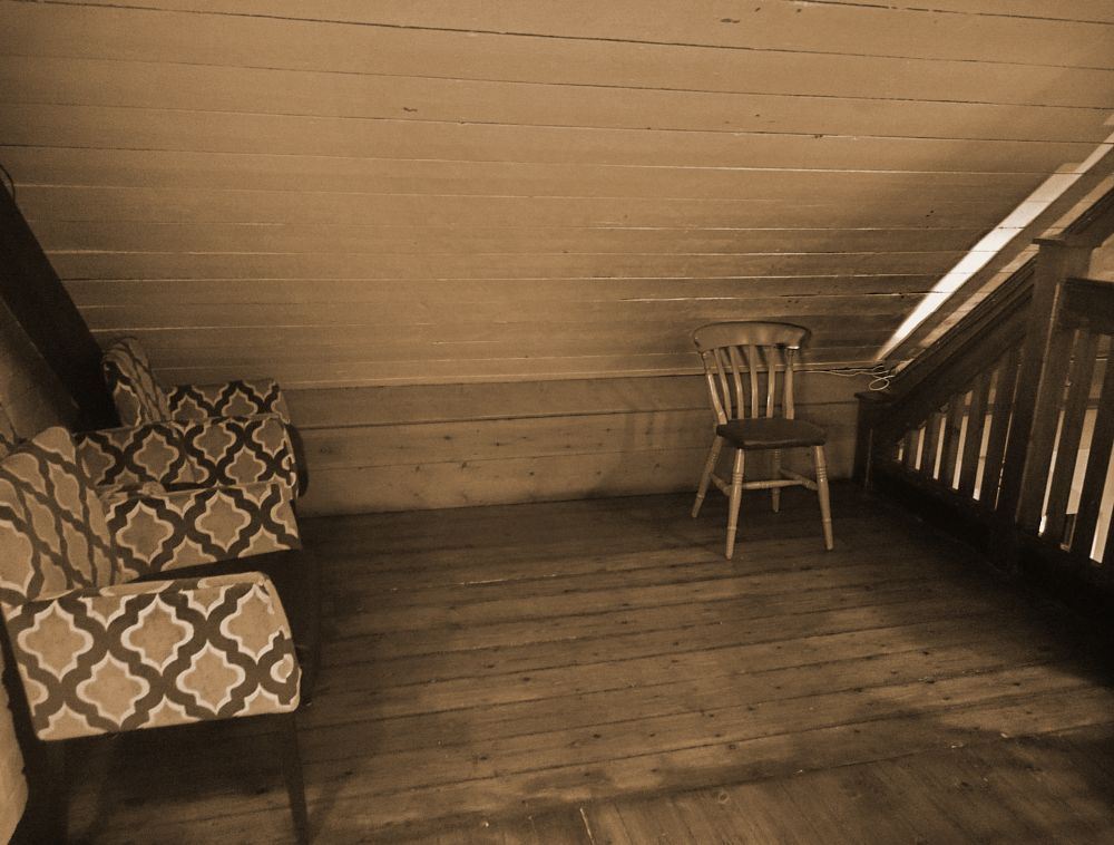 Photo in Interior #chair #wood #old #different