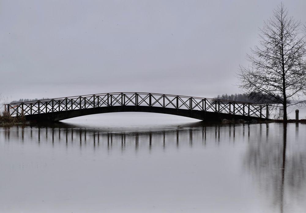 Photo in Random #mist grey calm lake christ