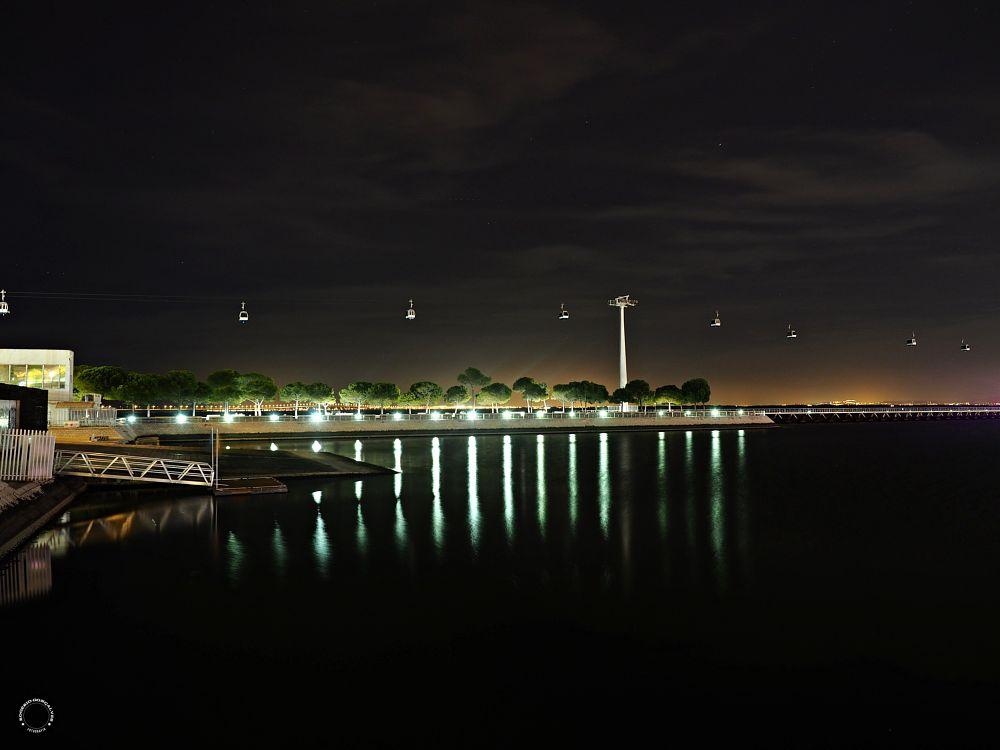 Photo in Architecture #rogeriogoncalvesfotografia #lisboa #lisbon #portugal #noite #night #river #riotejo #tejo #expo