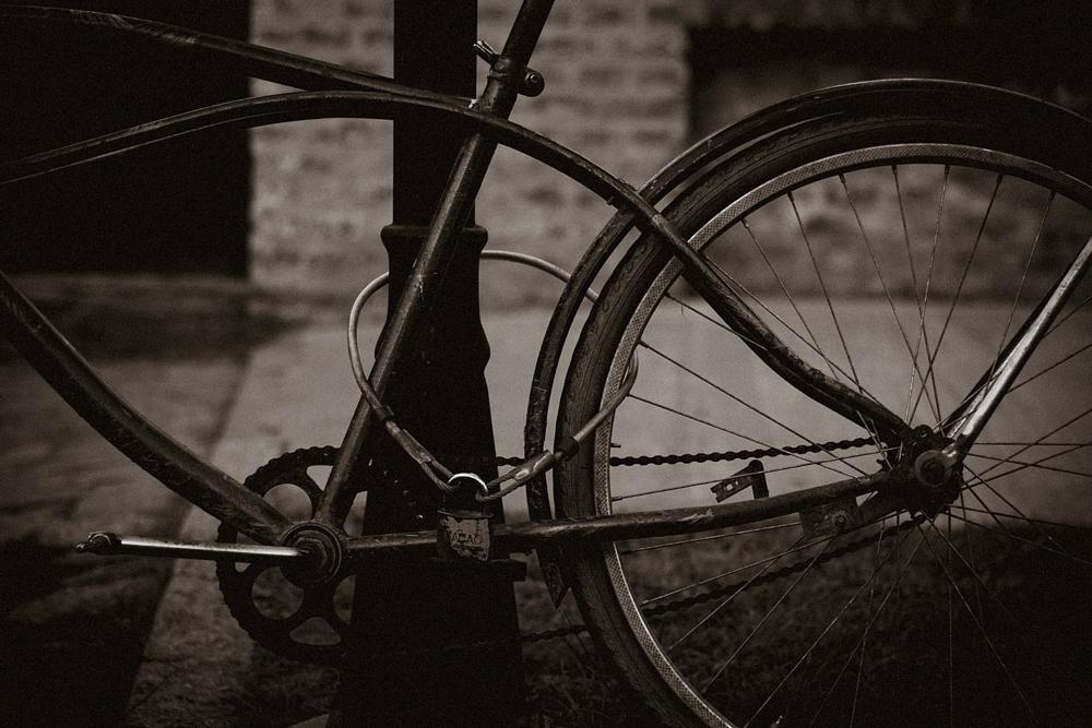 Photo in Urban #bike #stand #black & white