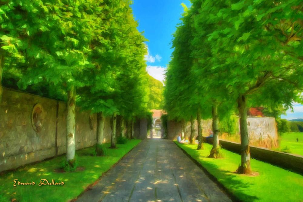 Photo in Landscape #garden #jardin #ireland #photo art #landscape #nature #green #trees #edward dullard photography #laois #kilkenny online camera club