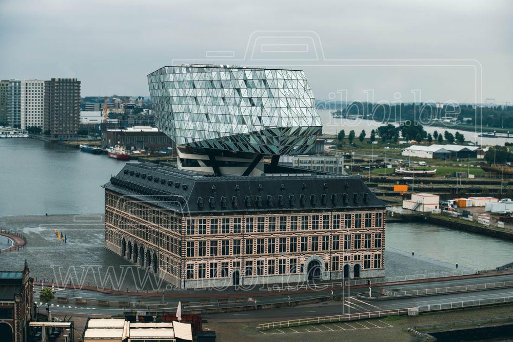 Photo in Architecture #havenhuis #ribbi #antwerp #portofantwerp #architecture