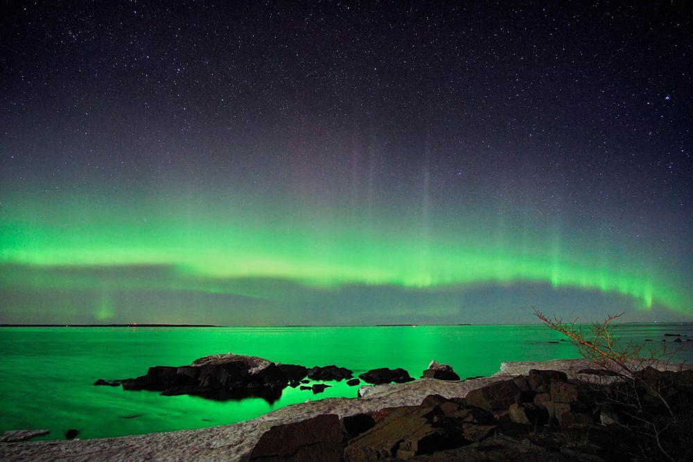 Photo in Landscape #aurora borealis #northenlights