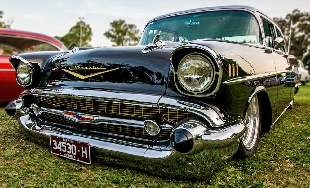 Photo in Vehicle #chevy #hott rod #cars #wide angle #inspiration