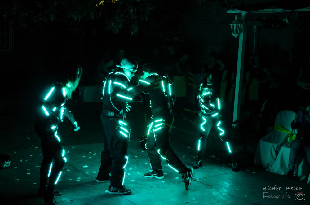 Photo in Random #trajes de led #dance #fiesta #coerografia