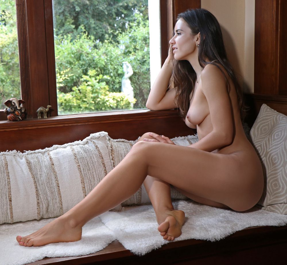 Photo in Nude #window #candid #natural #lovely #legs #boobs #windowseat #lifestyle