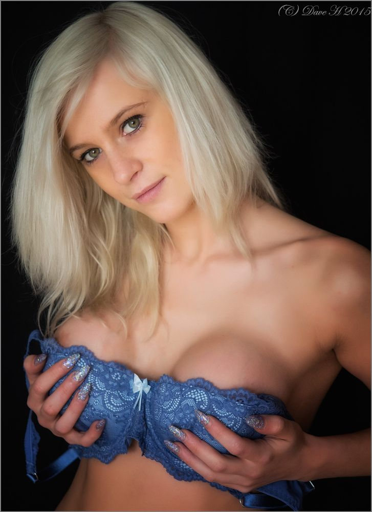 Photo in Portrait #lingerie #blonde #temptation #tease #breasts #boobs #nipples #glamour