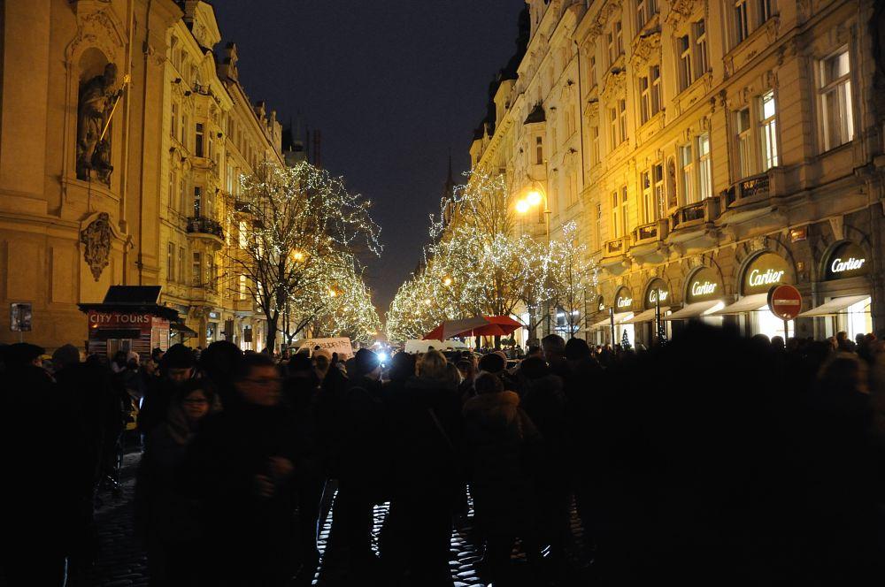 Photo in Cityscape #christmas #prague #czech republic
