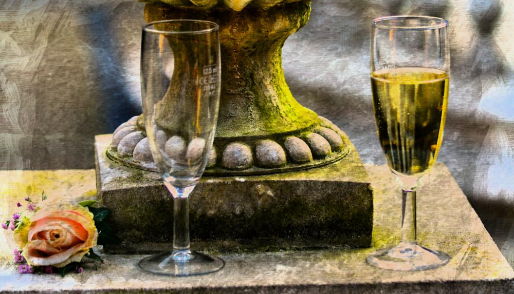 Photo in Wedding #drink #wine #glass