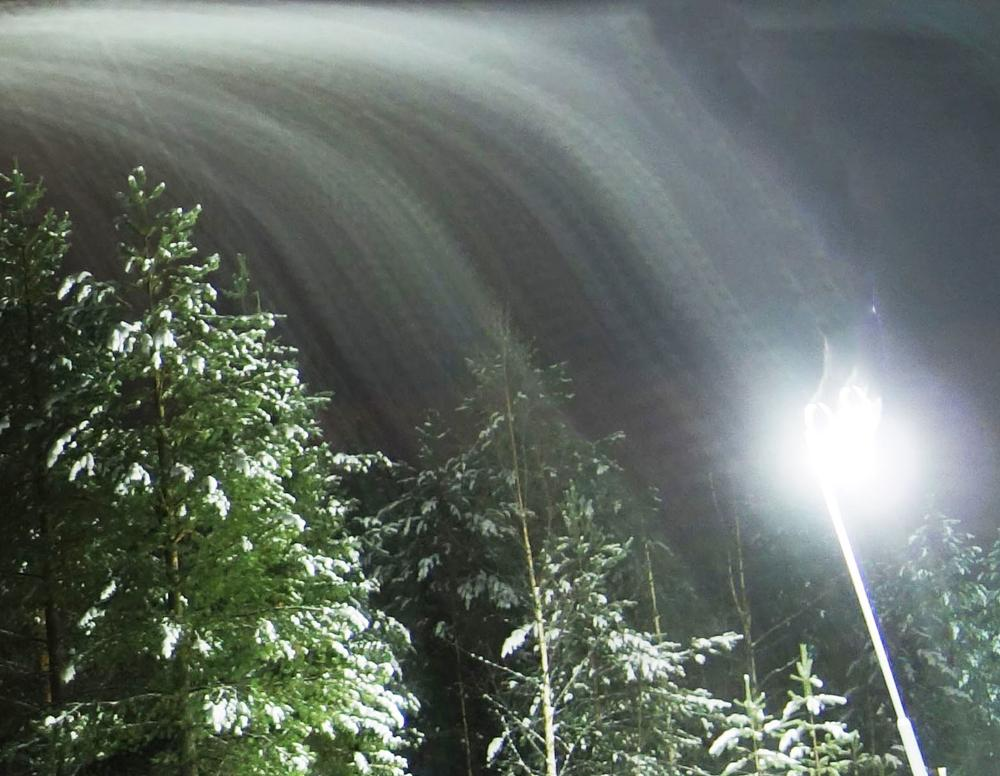 Photo in Random #wind #night #labland #finland