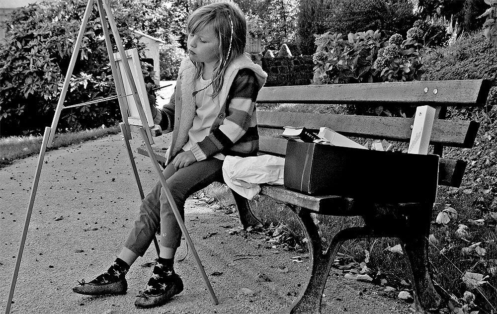 Photo in Street Photography #street photography #basse normandie #france #europe #children #child #happiness