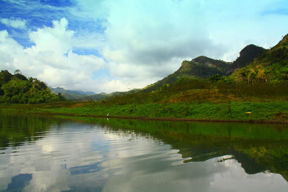 Photo in Landscape #mountain #clouds #lake #nature #landscape #mountains #cloud #lakes #pinar del rio