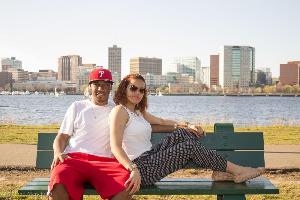 Photo in Cityscape #bostoncharles #riverwalkafternoon