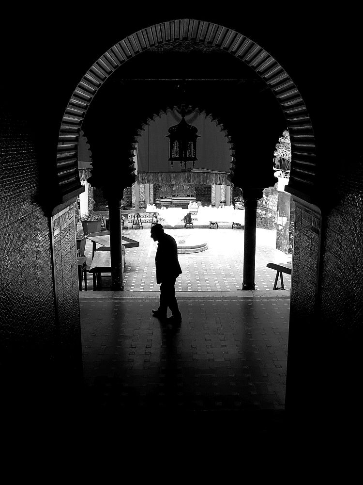 Photo in Black and White #black and white #casa do alentejo #house