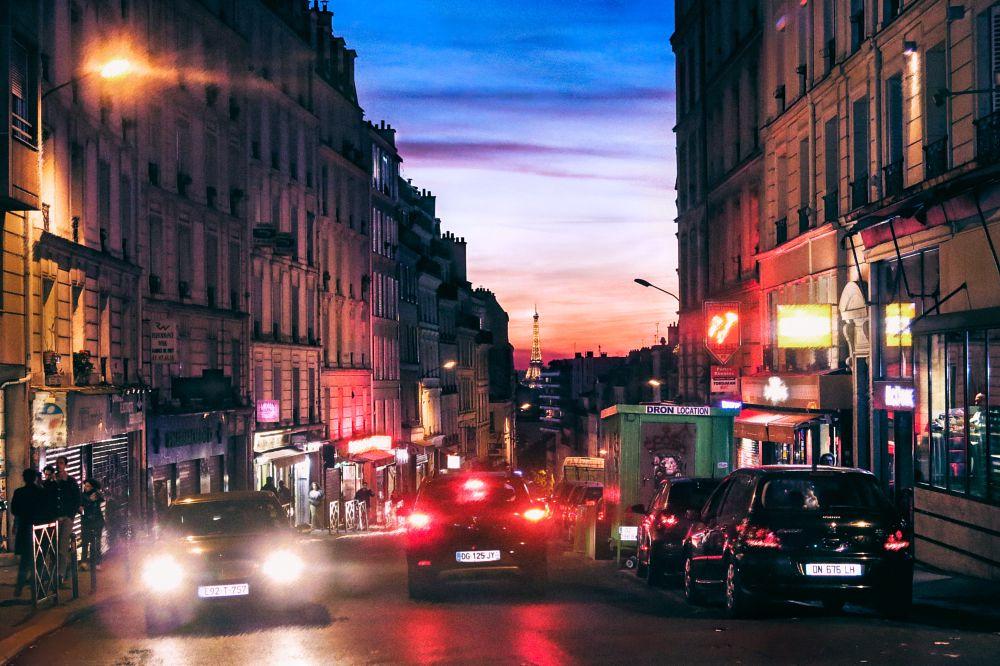 Photo in Cityscape #europe #paris #france #city #sunset #romance #cinema #film #art #fine art #travel #architecture #cityscape #love #romantic #color #colorphotography #nostalgic #feeling #emotional #sky #autumn