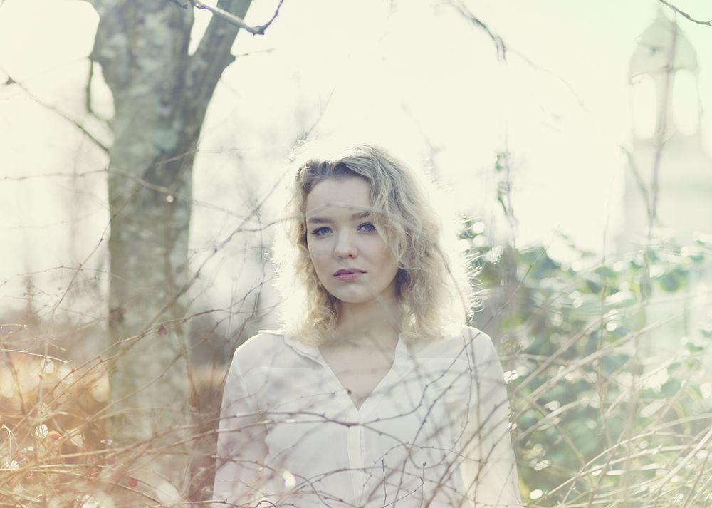 Photo in Portrait #blonde #blonde hair #blue eyes #model #model portfolio #portrait #photographer #headshot