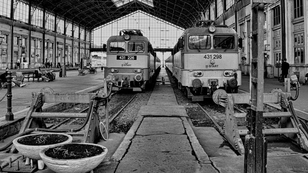 Photo in Vehicle #trains #station #tracks #mono