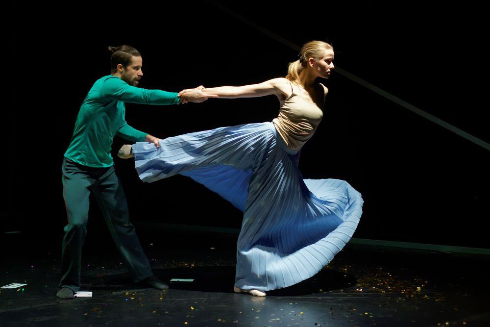 Photo in Fine Art #theater #live #performance #dancer #spot #light