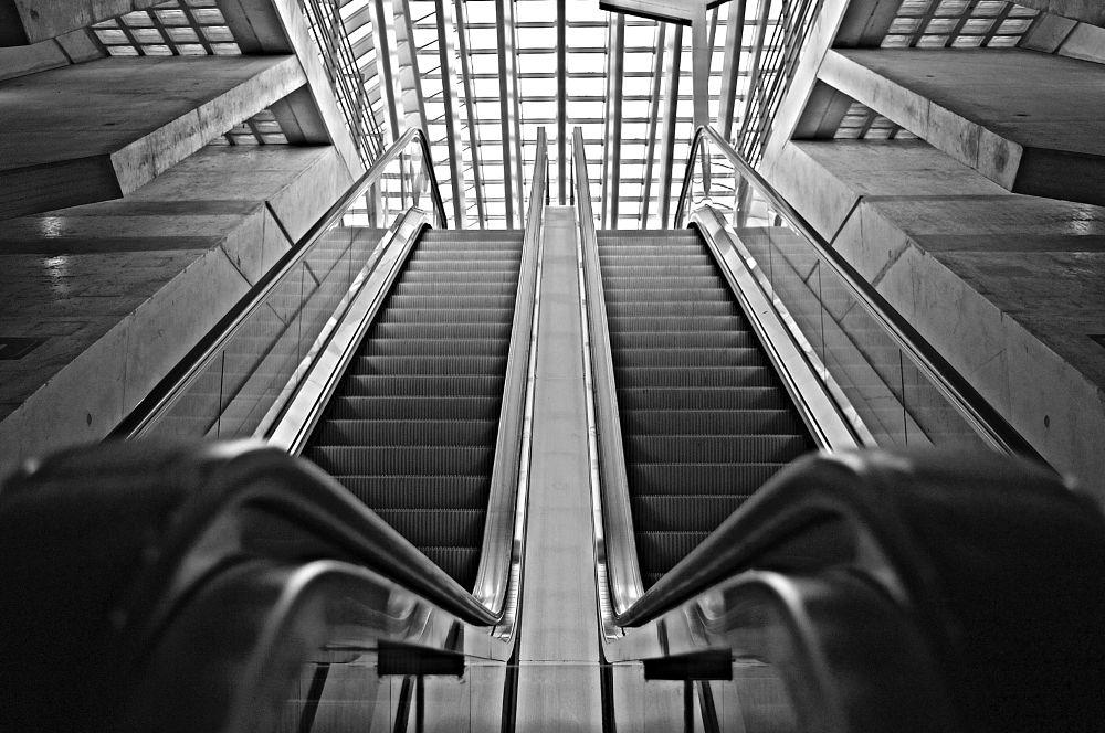 Photo in Architecture #cityscape #archi #black&white