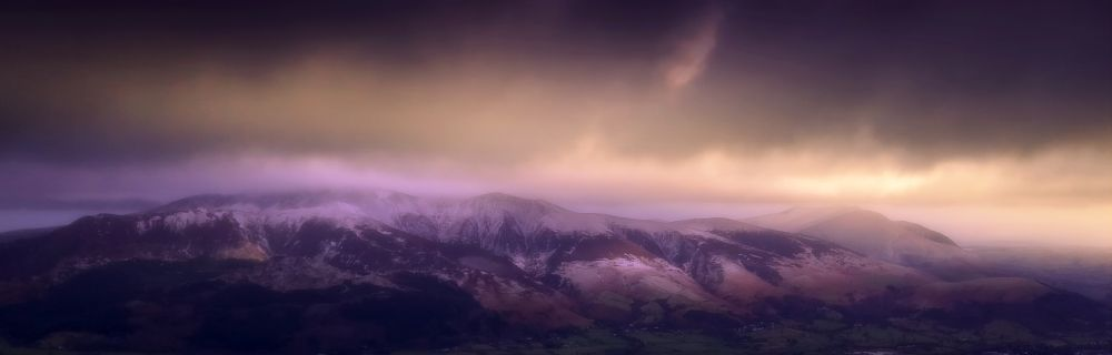 Photo in Landscape #skiddaw #stormy #lake district #cumbria