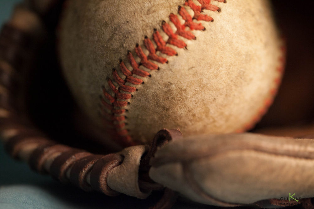 Photo in Random #ball #glove #baseball