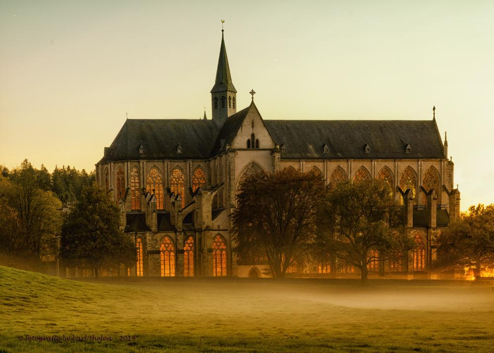 Photo in Landscape #abbey #germany #bergisches land