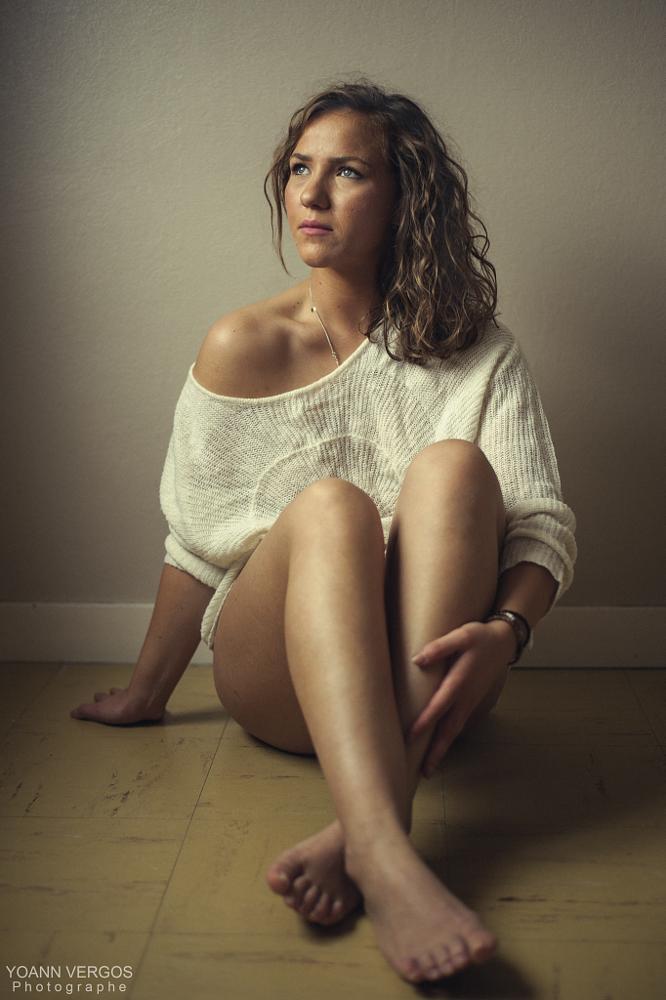 Photo in Portrait #boudoir #woman #sexy #bedroom #pretty #beauty