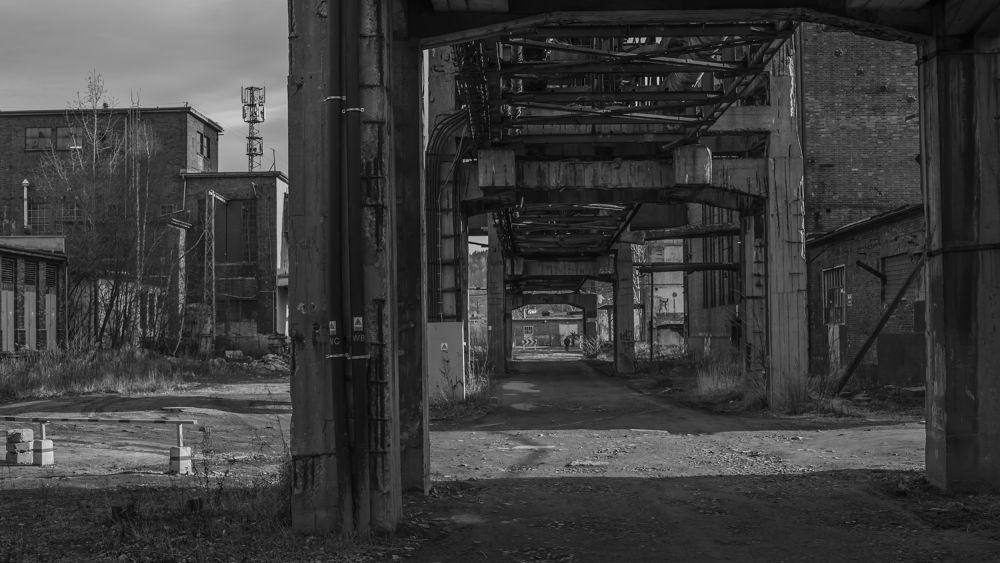 Photo in Industrial #factory #cellulose #jelenia góra #sudety #old factory #karkonosze #poisoner #chimneys #lower silesia #poland