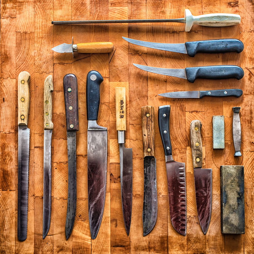 Photo in Still Life #knives #knife #tools #kitchen