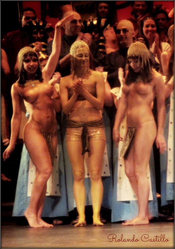 Photo in Random #aída #opera #verdi #nude #slave #egypt #egypcian #theater #teatro #avenida #ópera