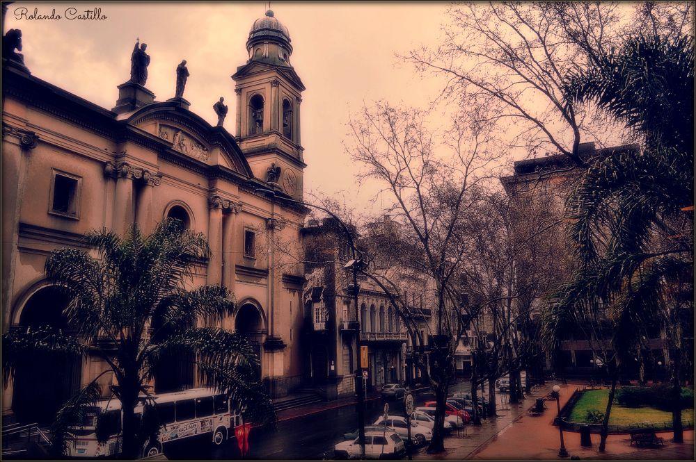 Photo in Random #catedral #plaza #matriz #sarandi #montevideo #ciudad vieja #uruguay