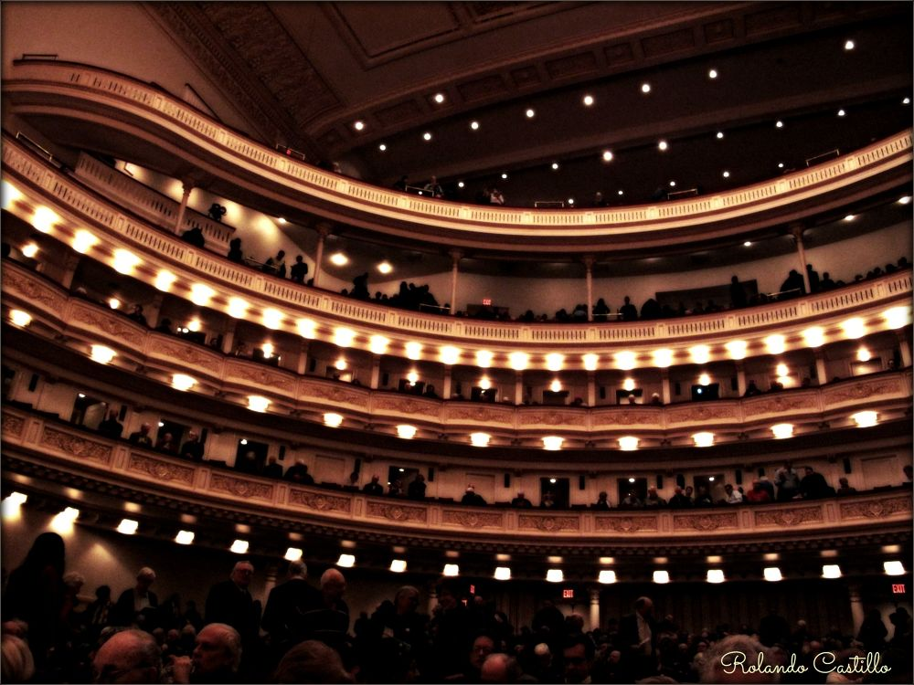 Photo in Random #carnegie #hall #new york #manhattan #concert #thater