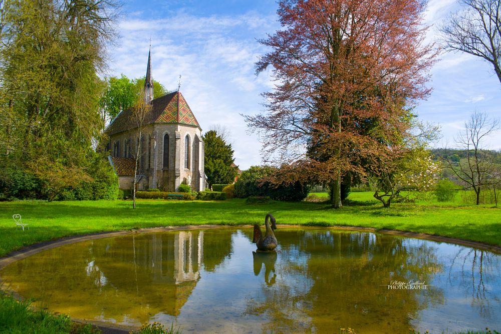 Photo in Landscape #philippeguilloud #urbex #chapelle #printemps #photographer